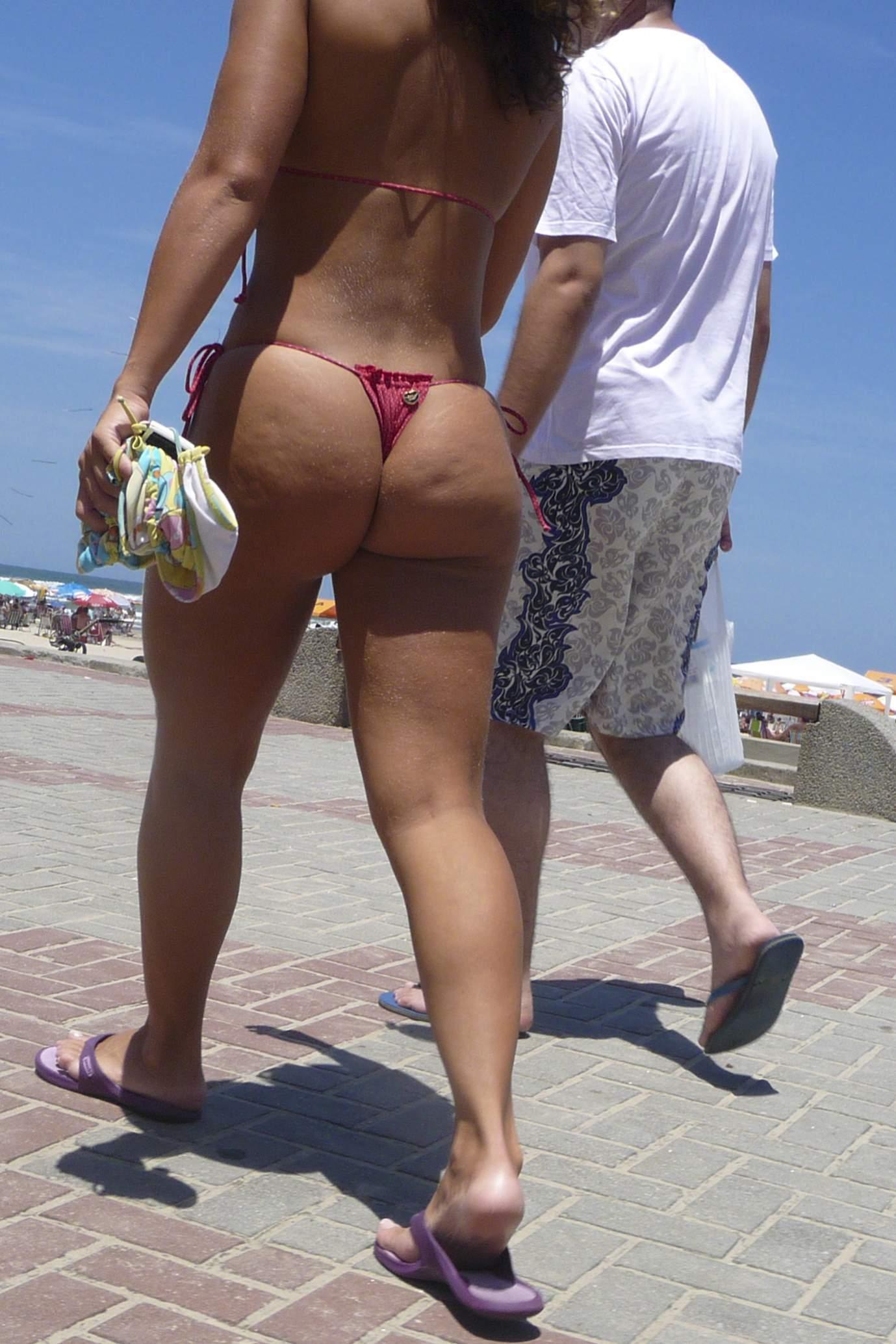 Candid Bikini