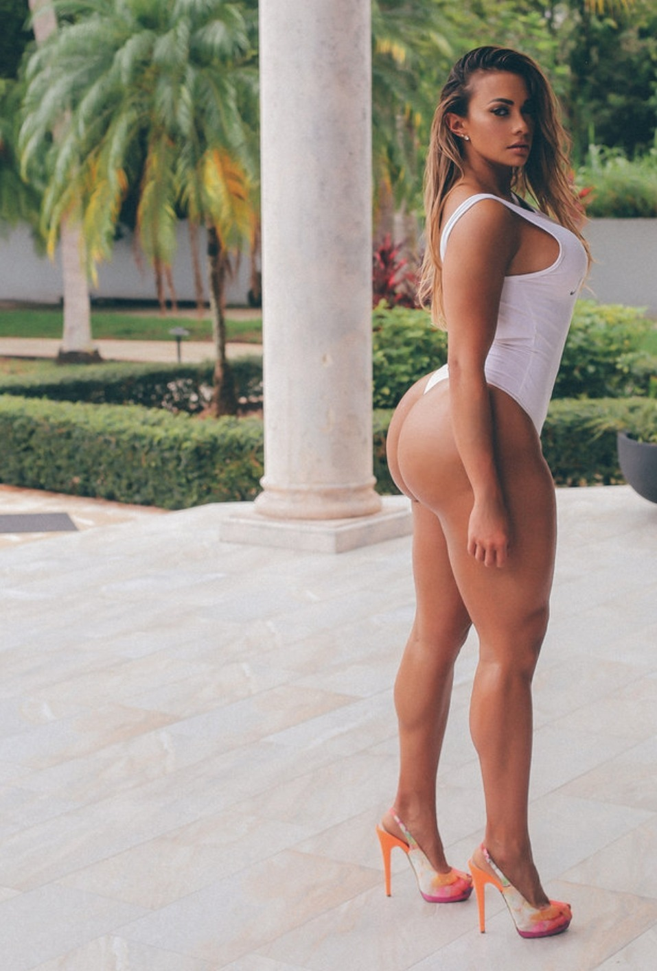 Latina tits blindfolded surprise