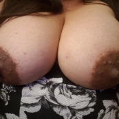 Perfect nipples and areolas