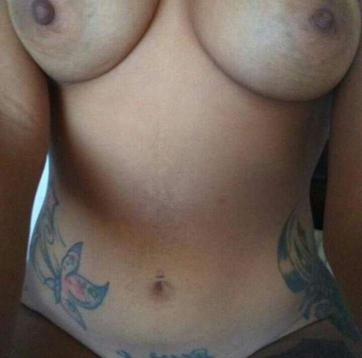 Big tattooed booty