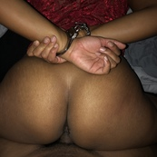 Sexy ass redbone wife fucked and handcuffed