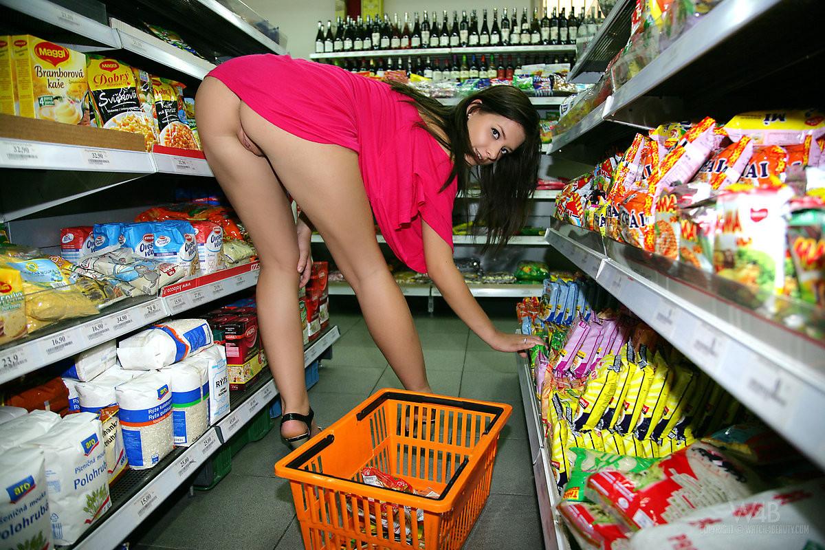 Supermarkt Porn