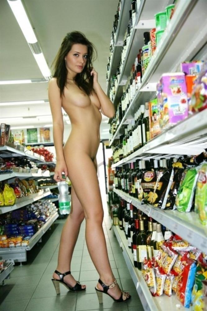 Shopping Nude  Flashing - Shesfreaky-5030