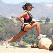 CHRISTINA MILIAN STRETCHING