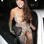 LIZZIE CUNDY TIT FLASH