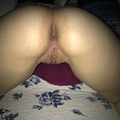 Girlfriend's Ass Spread