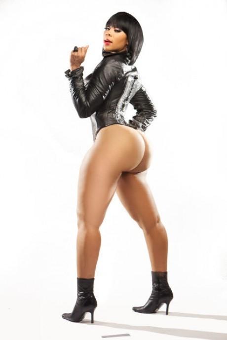 girls black Super booty big