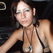 Street Prostitute in car
