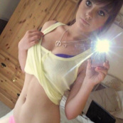 Horny camgirl showing cuteness.