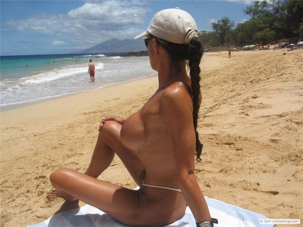 Malibu string bikini pictures
