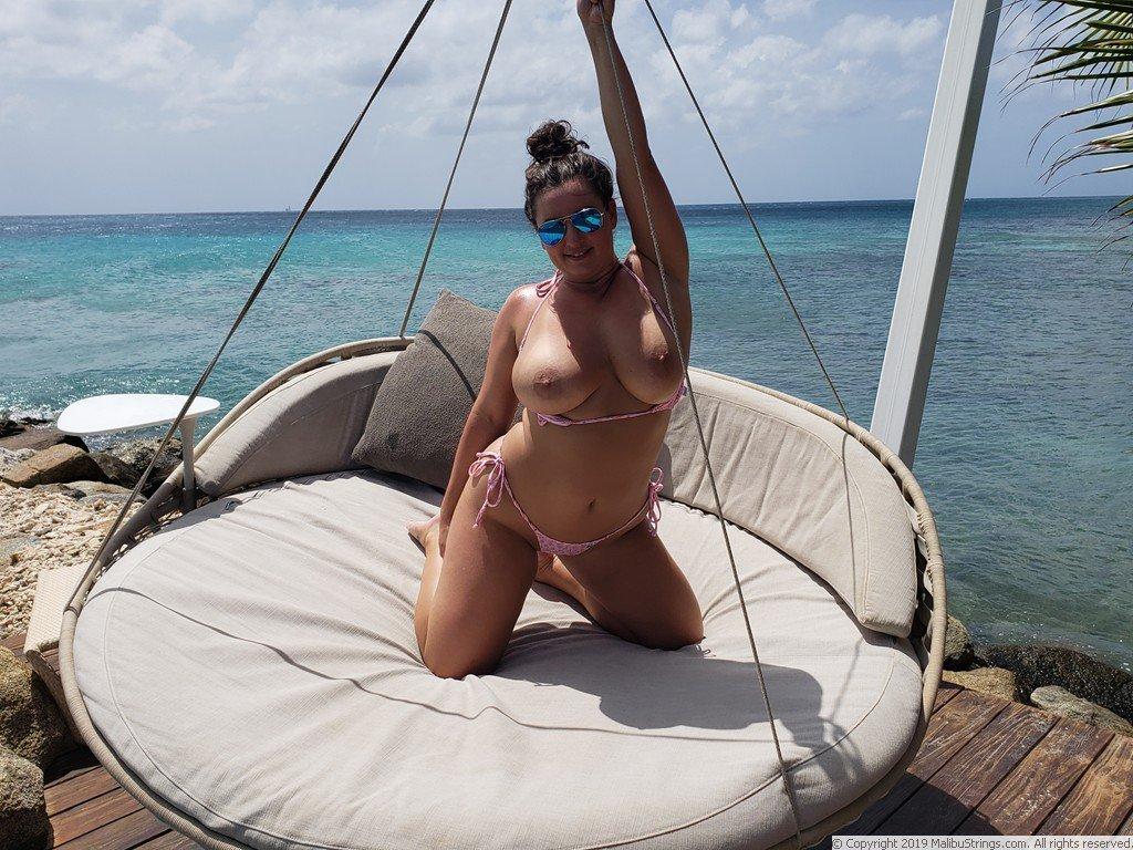 strings comp Malibu bikini