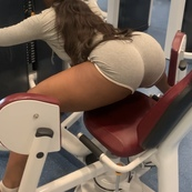 Trying to get all the attention at the gym