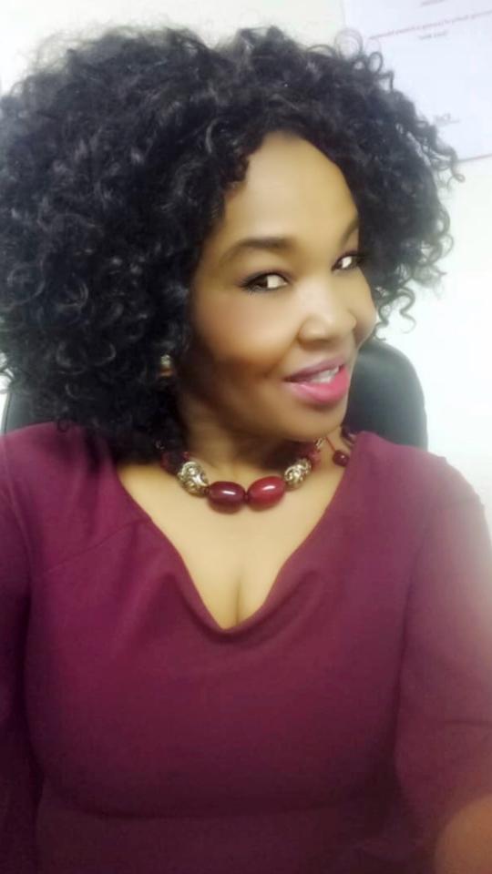 African MILF Zhandee Panties and bra - ShesFreaky