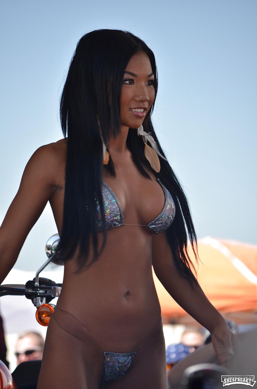 Super Hot Asian- Tina- Bikini- Lbfm - Shesfreaky-3587