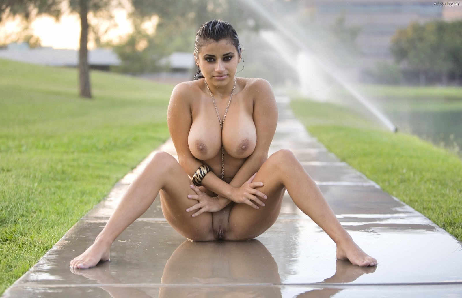 Indian girls rain naked
