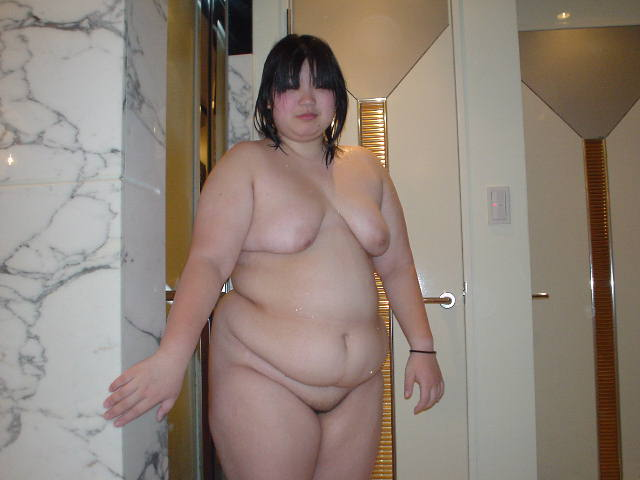 Japanees fat nude girl