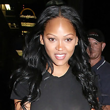 Megan Good See-through shirt