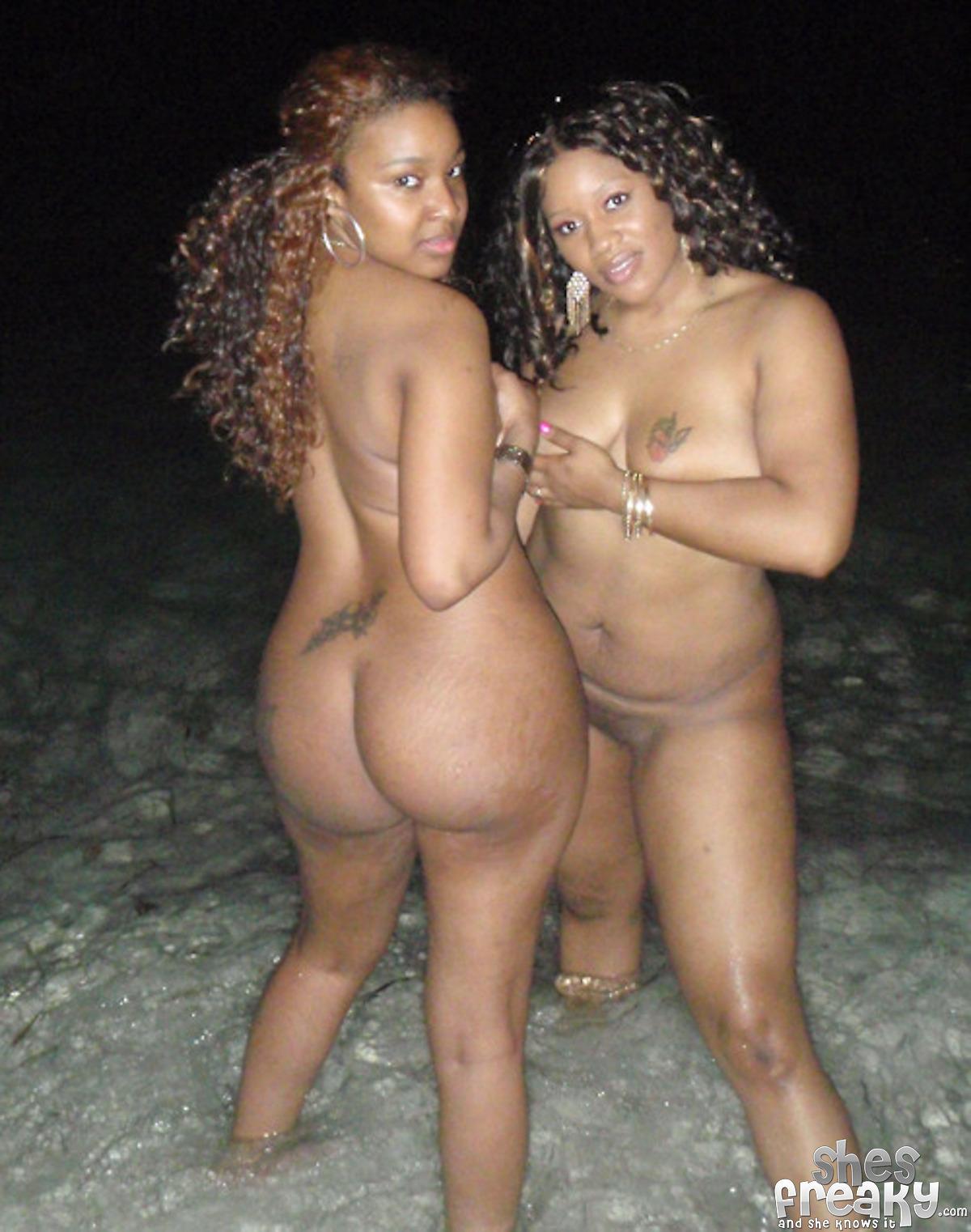 Nude black freaks