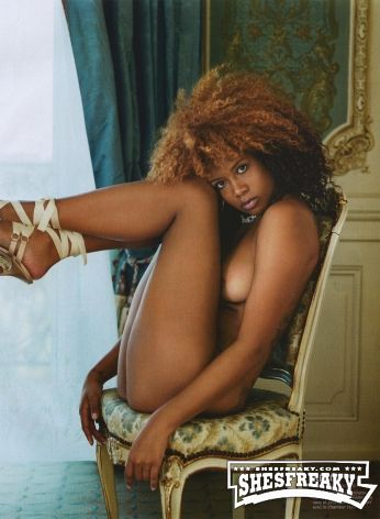 Sexy African American Female Nude Pics