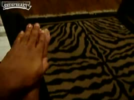 ebony foot rub