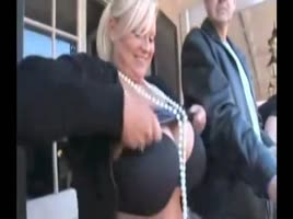 Flasher with greatest tits of all time