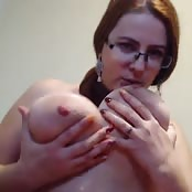 Huge Tits Suck and Dildo Play