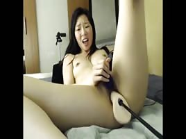Asian Chick Machine Fuck