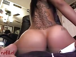 Sexy Tatted Nice Ass