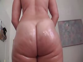 PAWG Dildo Session