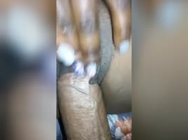Ebony with wet fat pussy