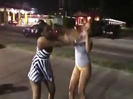 Fat Asses Fighting