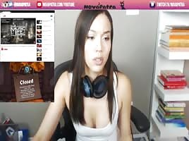 twitch streamerin masturbiert