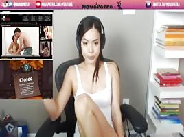Twitch streamer caught masturbating