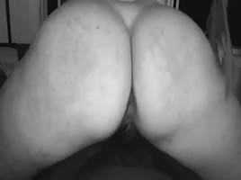 pawg riding my BBC reverse cowgirl/ slowmo