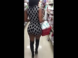Ghetto black dollar store booty
