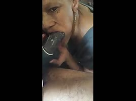 Bruh..who grandma out here sucking dick