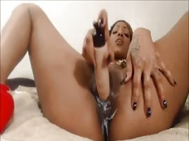 Fucking Her Creamy Pussy Until She Cums