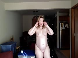 Youtube's Fatty Natty fully nude Big fat white ass