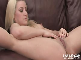 Opens Her Legs Wide For Some Dildo Play