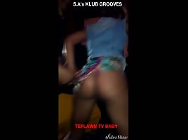 HOE TWERKING IN THA CLUB