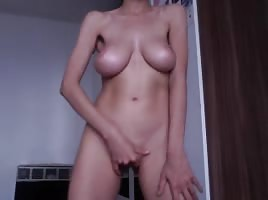 Hot Lebanese Girl From France On Webcam (Part 2)