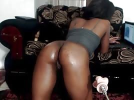 Oiled Booty