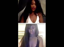Sister On Cam At The Same Time