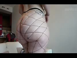 latina pawg in sexy stockings