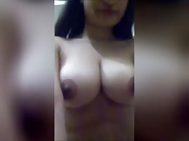 Big tit Indian selfshot pt 1