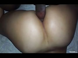 Virgin ass opens with a black cock