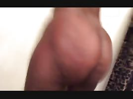 Ebony ass clapping
