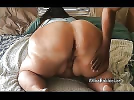 White BBW Granny Backshots