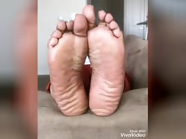 Nasty Fat bitch Amy Muir meaty soles