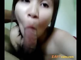 Thai blowjob pov